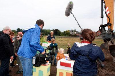 Mitglieder der WiGe eG und WDR Filmteam