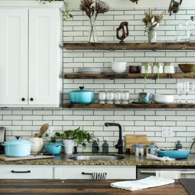 Das Bild zeigt eine Küche